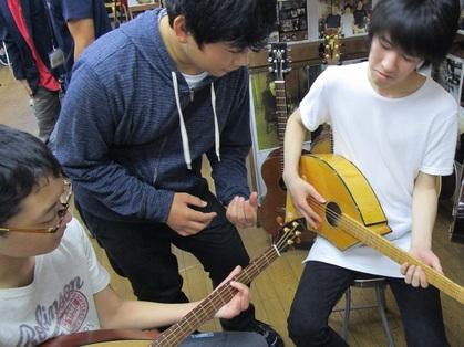 ヤイリギター見学